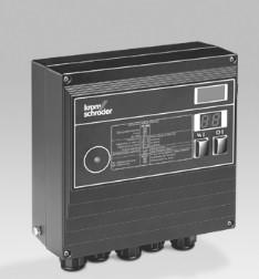 Control de llama y mando electrónico