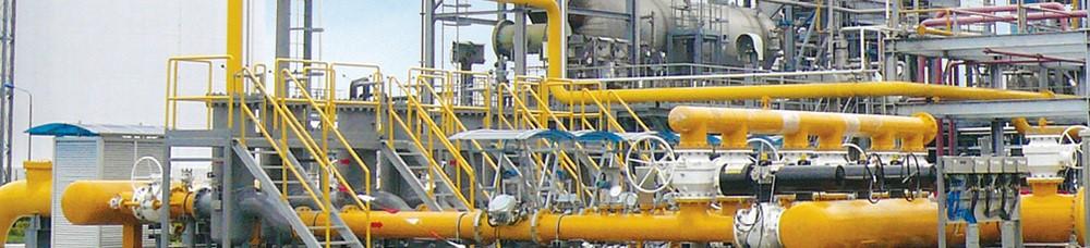 Medición de gas industrial