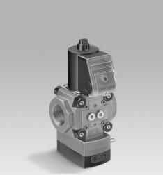 Reguladores con válvula electromagnética VAD, VAG, VAV