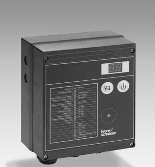 Unidad de control de quemador BCU 370