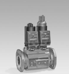 Válvulas electromagnéticas XL para gas VAS, VCS