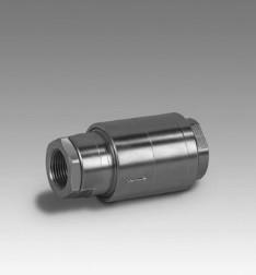Válvulas de retención para gas GRS, GRSF