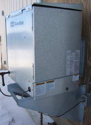 Conjunto kit instalación exterior GUARDIAN AD250
