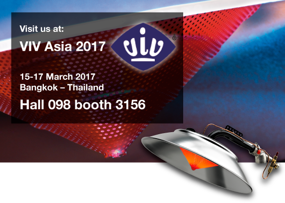 Kromschroeder participates in the International VIV ASIA 2017 Exhibition to be held in Bangkok - Thailand from 15 to 17 March 2017