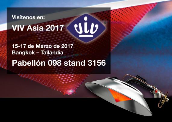 Kromschroeder - Visítenos en VIV ASIA 2017 que se celebrará del 15 al 17 de Marzo de 2017 en Bangkok – Tailandia