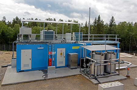 Kromschroeder - Depuración de biogás de membranas DMT Carborex®MS
