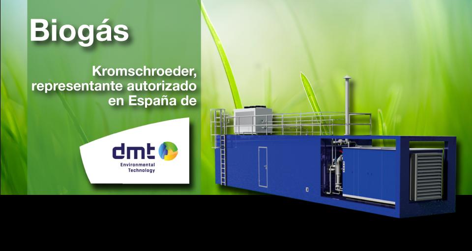 Kromschroeder, representante autorizado en España de DMT Environmental Technology