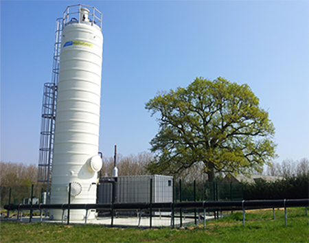 Kromschroeder - Desulfuración de biogás DMT Sulfurex®