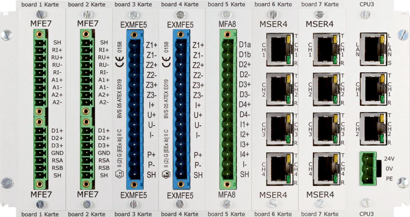 Flow Computer enCore FC1 board