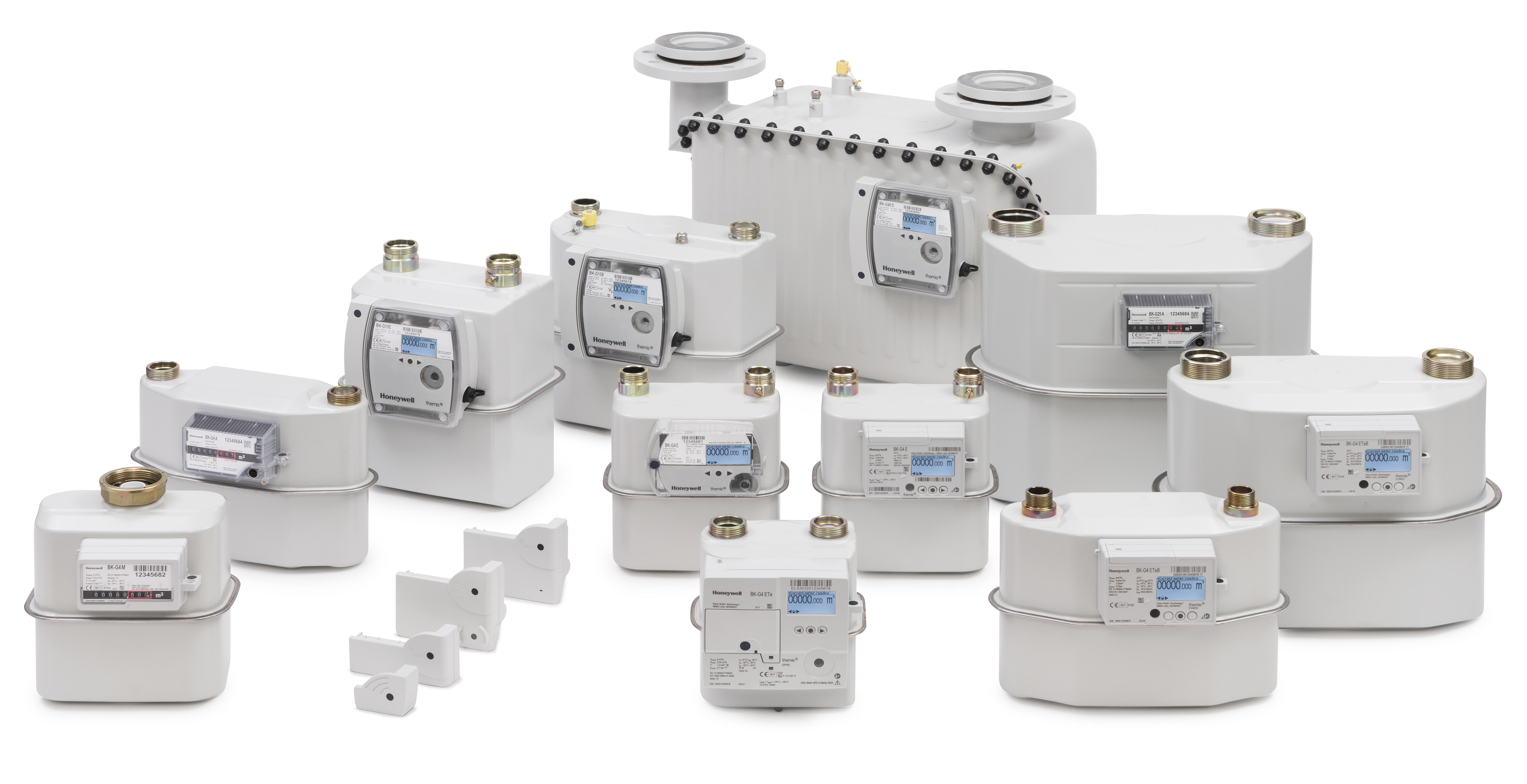 Smart Meters de membranas Honeywell - Kromschroeder
