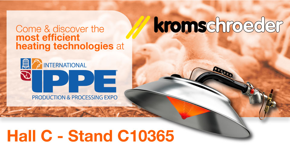 Kromschroeder, S.A. at the International Production & Processing Expo IPPE 2020 28 – 30.01.2020 - Atlanta (Georgia, EEUU)