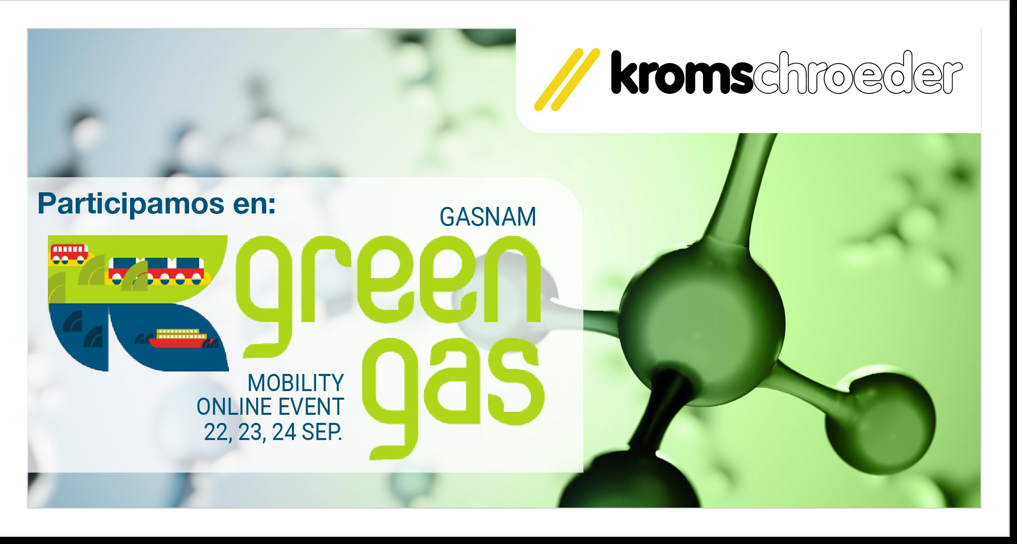 Kromschroeder en la cumbre Green Gas Mobility Online Event 2020